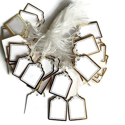 200 Gold Wstring Price Coupon Price Tag Cloth Jewelry Tagging Gun Hang Label