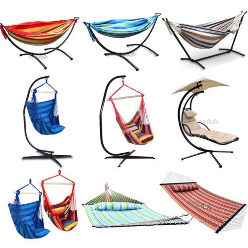 Double Hammock Hanging Hammock Chair Swing W/Seat ...