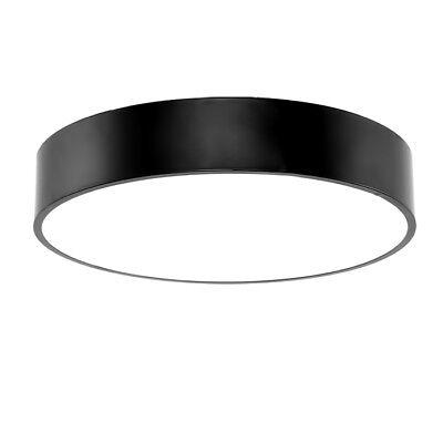 LAMPARA LOFT NEGRA (PLAFÓN O COLGANTE) - LED 24w BLANCO NATURAL (Diámetro...