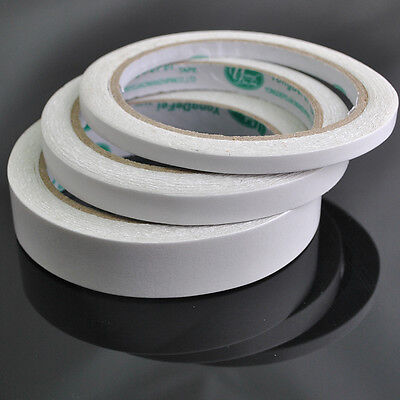 Wholesale 1 Roll White DIY Double-sided Adhesive Tape With Width 6/10/20mm DZ171](Wholesale Tape)