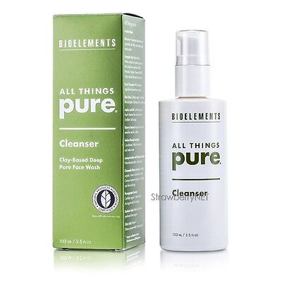 Bioelements All Things Pure Cleanser, Clay Based Deep 3.5oz