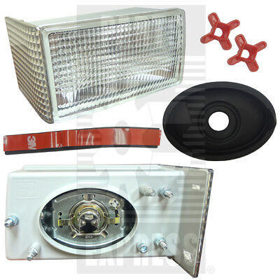 Case Ih Rh Front Grill Light Assy With Bulb Part Wn-1964881c2 For Tractors