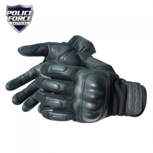 NEW GENUINE POLICE FORCE NOMEX HARD KNUCKLE TACTICAL GLOVE LARGE COMFORTABLE