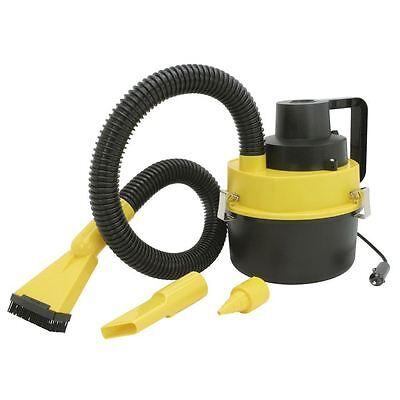 Aspirateur bidon eau et poussière 12V voiture allume / cigare     Gonfleur Pompe