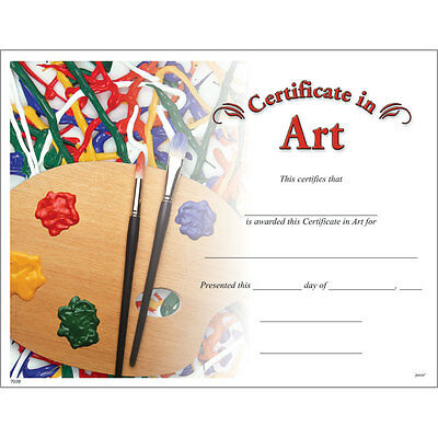 Art Award Certificate, Pack of 15](Certificate Of Award)