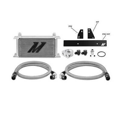 Mishimoto Oil Cooler Kit Non Thermostatic Silver for Nissan 370Z 3.5L 2009-2015