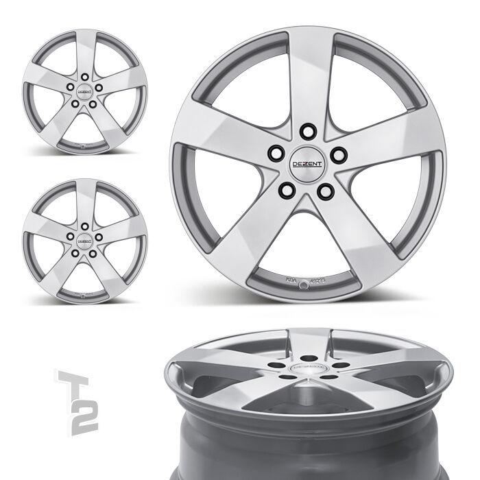 4x 17 Zoll Alufelgen Für Mazda Cx-3, Cx-5, Cx-7 Dezent Td (B-0604570)