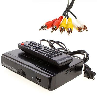 Digital TV Converter Box  HDTV Media Player Recording PVR Tuner Digital Converter Box Hdtv