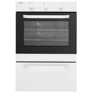 Chef 60cm White Electric Wall Oven with Separate Grill - EXC617W Mansfield Brisbane South East Preview
