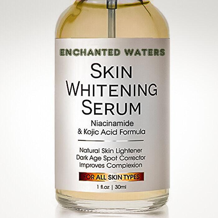 Skin Whitening Lightening Brightening Serum Kojic Acid Dark Spot Bleaching Cream