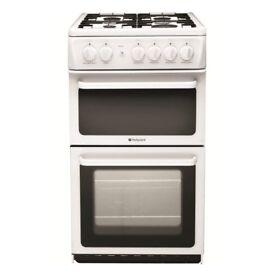 Hotpoint HAE51G White 50cm Gas cooker £219