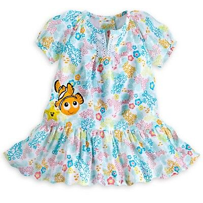 DISNEY STORE FINDING NEMO WOVEN DRESS WITH MATCHING BLOOMERS FOR BABY GIRL NWT - Finding Nemo Dress