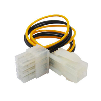 K30 15cm PC Mainboard Strom Adapter Kabel 4 pol ATX zu 8 pol EATX / EPS P4 zu P8