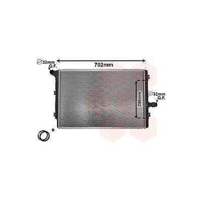 VAN WEZEL 58002208 Kühler, Motorkühlung   für VW Passat Passat Variant CC