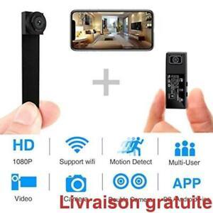 Spy Camera WiFi Mini camera cachee 1080p HD sans fil