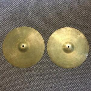 "Zildjian Avedis New Beat Hi-Hats 14"" - usagés-used"