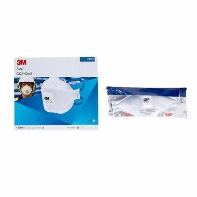3M™ Aura™ 9322+ GEN3 FFP2 NR D Atemschutzmaske mit Ventil Mundschutz Maske Staub