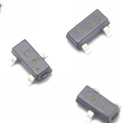 50pcs 2sc1623 L6 0.1a50v Npn Sot-23 Smd Transistor New