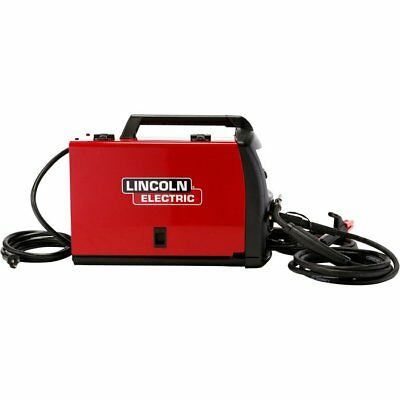 Lincoln K3461-1h Multi-process Mig Tig Stick Welder 120v 120 Amp W Adf Helmet