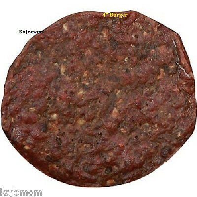 """10 Count Happy Howies 4"""" REAL BEEF BURGERS Natural USA Dog Treats Chews Dental"""