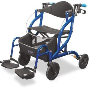 FOR SALE - Airgo Fusion Side-Folding Rollator & Transport Chair