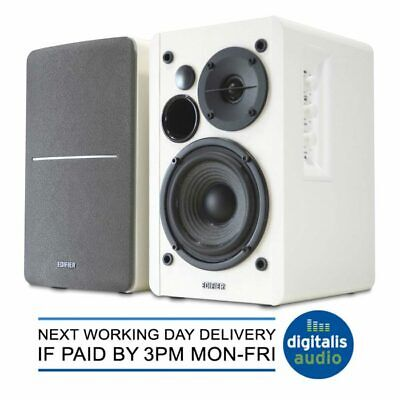 White Edifier R1280T Active 2.0 Bookshelf Studio Speakers System for TV/MAC/PC
