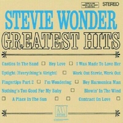 STEVIE WONDER - GREATEST HITS VOL.1  CD  12 TRACKS POP/SOUL/MOTOWN BEST OF