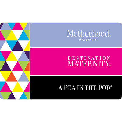 Destination Maternity Gift Card 25  50 Or  100   Fast Email Delivery