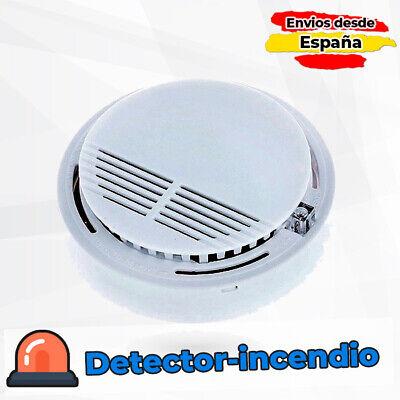 Sensor de incendio foto electrico inalambrico SS168 para techo detector fuego