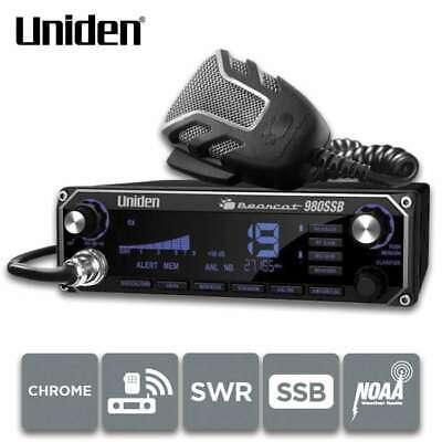 Uniden Bearcat 980 SSB Single Sideband 40 Channel CB Radio B