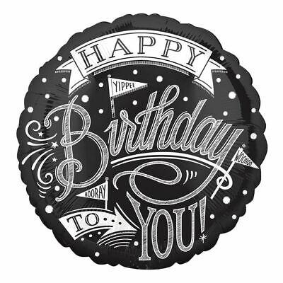 appy Birthday, ca. 45 cm Geburtstagsballon Partydeko (Happy Birthday Tafel)
