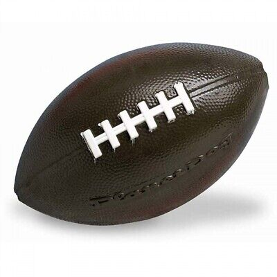 Planet Dog Orbee Tuff American Football Extra Tough Rubber Dog Toy