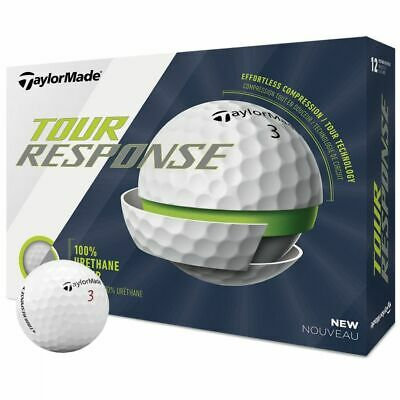 TAYLORMADE 2020 TOUR RESPONSE GOLF BALLS  - WHITE - ONE DOZEN