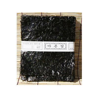 Korean natural green laver Seaweed Dried Laver for sushi, gimbab, nori 100 sheet