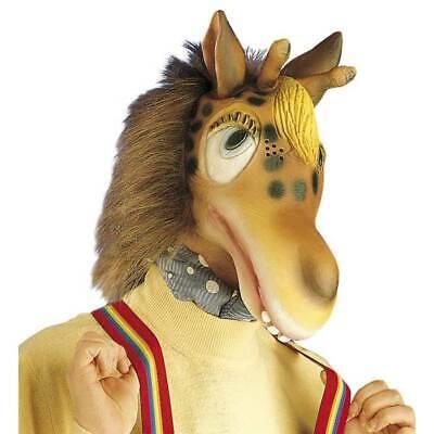 LATEX GIRAFFEN MASKE # Karneval Giraffenmaske Tier Afrika - Latex Tier Kostüme