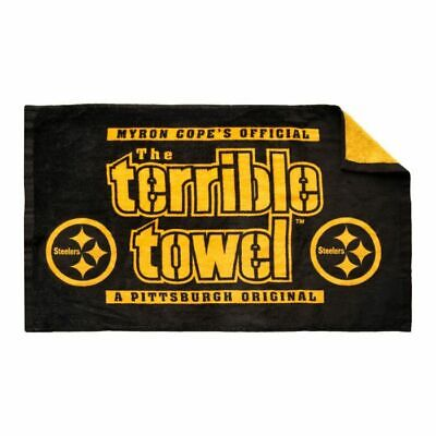 Pittsburgh Steelers Colors (Pittsburgh Steelers Football Myron Cope Official Color Rush Black Terrible)