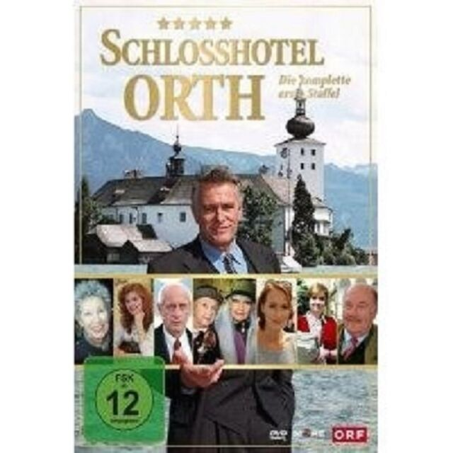 "SCHLOSSHOTEL ORTH ""STAFFEL 1"" 3 DVD TV SERIE NEU"