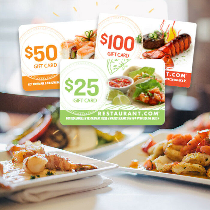 Restaurant.com $175 eGift Cards Bundle