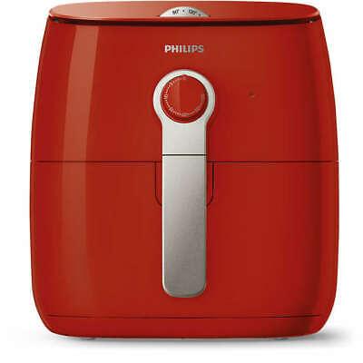 Philips Viva 2 1425-Watt Turbostar Multi-Cooker Low-Fat Airfryer - Red (Grade A)