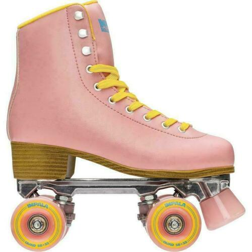 NEW Impala - Quad Roller Skates | Vegan - Womens | Pink / Yellow - Size: 7