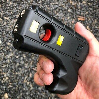 Striker 10 MV Rechargeable Pistol Grip STUN GUN w/ LED Light & Safety Pin NEW