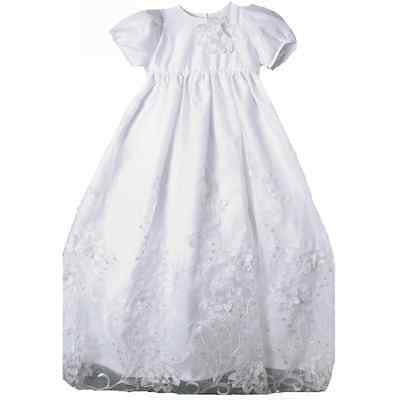 Stunning Baby Girl Unique Angels Floral Lace Boutique Christening Gown/Hat Set](Unique Christening Gowns)