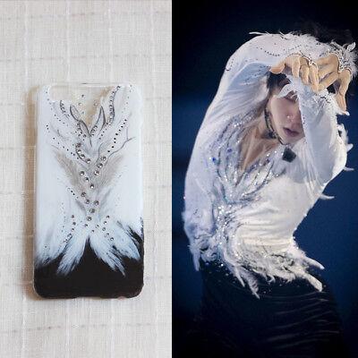 Rare HANYU YUZURU Notte Stellata Hard Phone Case Cover handmade handpainted