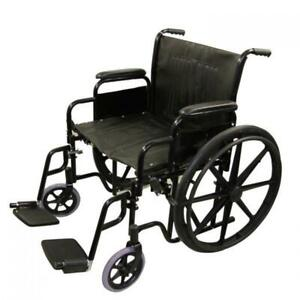 Wheelchair New - Easy to fold - Great for taking loved ones around
