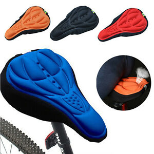 Cycling-Bike-Bicycle-3D-Silicone-Gel-Pad-Saddle-Seat-Comfort-Soft-Cushion-Cover