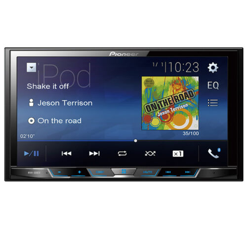 "Pioneer MVH-300EX RB Double 2 DIN MP3/WMA Digital Media Player 7"" LCD Bluetooth"