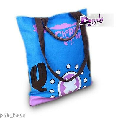 ONE PIECE Tony Tony Chopper Cosplay Kostüm Gift Anime Schultertaschen Bag Blau - Tony Chopper Kostüm