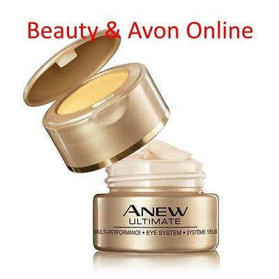 AVON ANEW ULTIMATE MULTI-PERFORMANCE EYE SYSTEM Cream & Elix