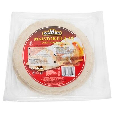 La Costena Maistortilla Frisch 14 cm - 12 Stk. - Wrap - Tortilla -
