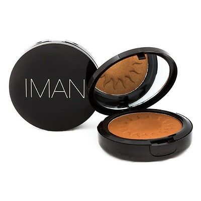 Iman Sheer Finish * Clay * Bronzing Bronzer Powder **NEW**